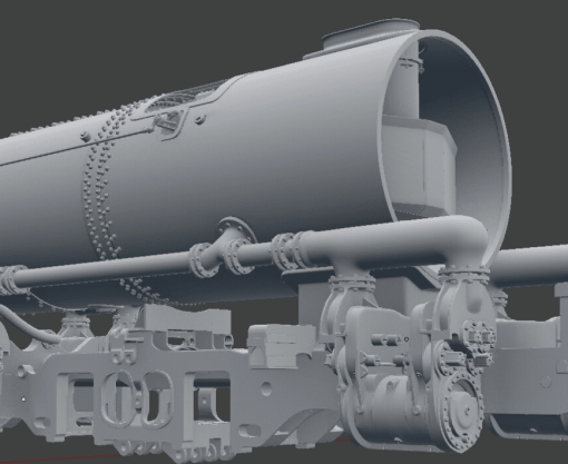 Smokebox Ordered