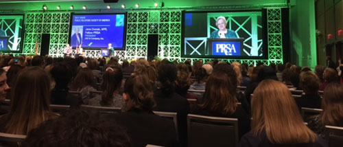 2017-PRSA-Chair-Jane-Dvorak,-APR,-Fellow,-welcomed-members-to-the-PRSA-International-Conference-in-Boston
