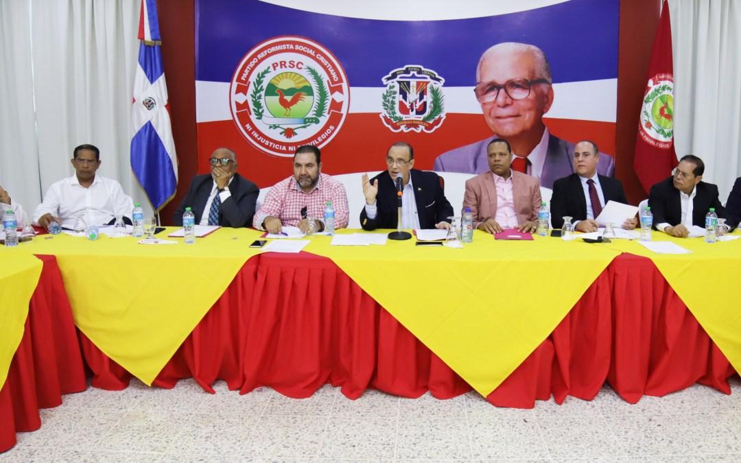 PRSC pide al TC fijar audiencia y eliminar el arrastre en todo el territorio nacional