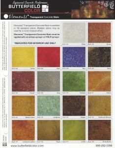 Water based concrete stain also acid stained chattanooga huntsville  nashville rh prsconcrete