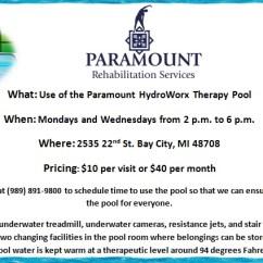 Anti Gravity Pool Chair Ergonomic Wood Program For The General Public | Paramount Rehabilitation Services