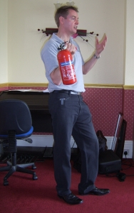 Care Home Fire Training - fire extinguishers