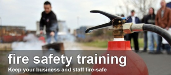 General staff fire safety training