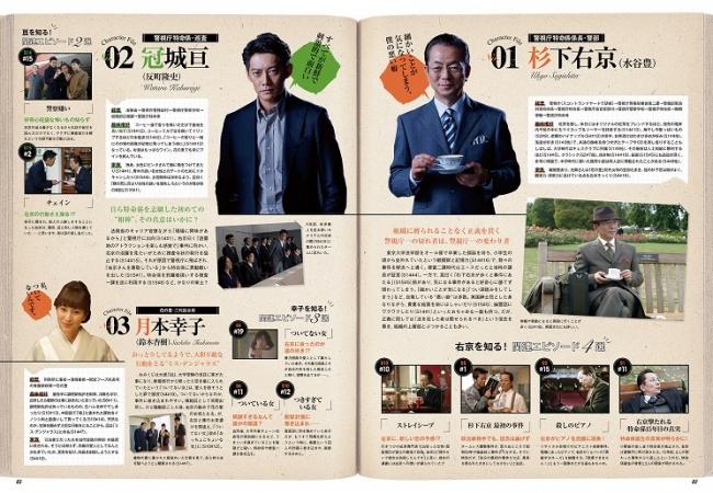 『オフィシャルガイドブック 相棒-劇場版IV』(ぴあ)P82-83