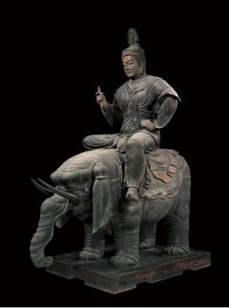 写真 帝釈天騎象像 東京国立博物館ウェブサイトより