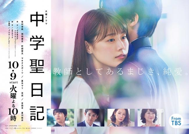 「中学聖日記」ポスタービジュアル (C)TBS