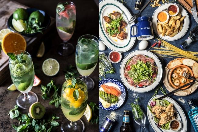 ディナーは、お酒に合う小皿料理を豊富にご用意。バルスタイルでお楽しみいただけます。
