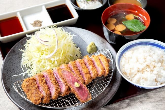 牛カツ京玉膳:1,380円(+税)