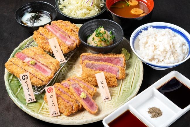 牛カツ欲張り御膳 2,780円(+税)