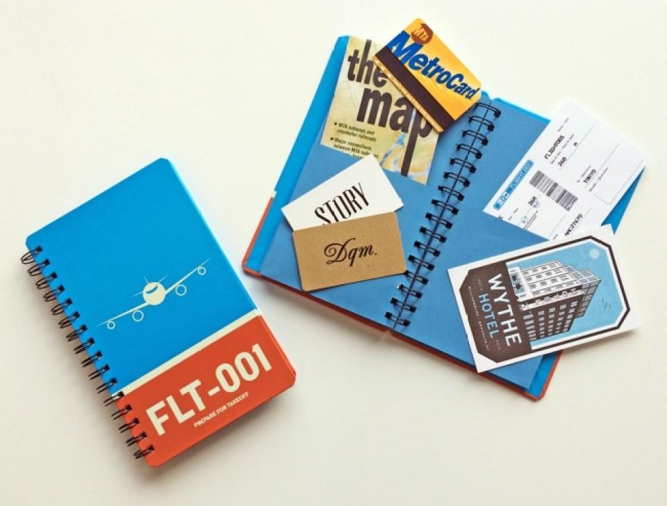 【ノベルティ】FLIGHT 001 オリジナルトラベルスクラップブック