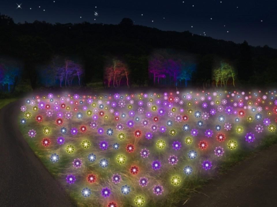 2016シーズン新演出「天空の花畑」
