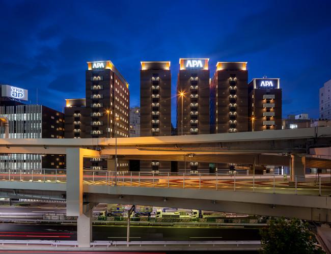 アパホテル〈六本木SIX〉(全1,001室)