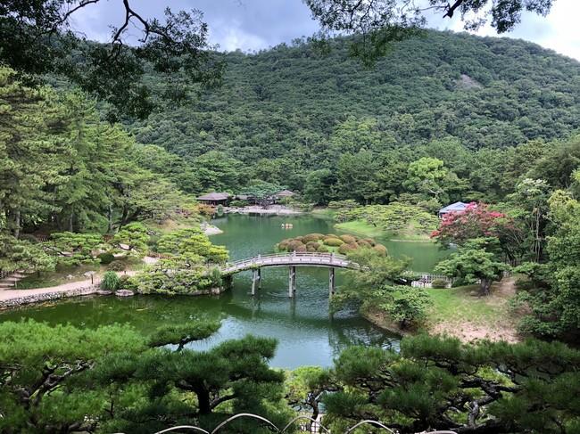 公園 1 位:栗林公園(香川県高松市)