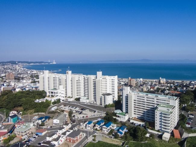 三浦海岸と東京湾を一望する好立地