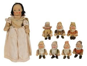 「白雪姫」  R.G.クルーガー社アンティーク人形(1938年頃)
