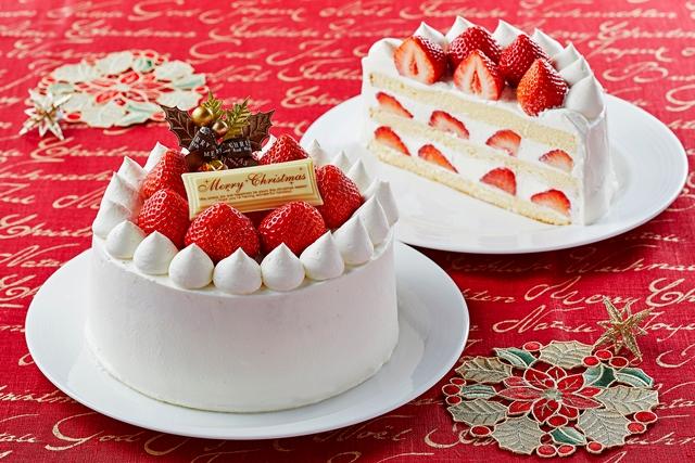 聖夜に華を添える、ホテルメイドのクリスマスケーキ