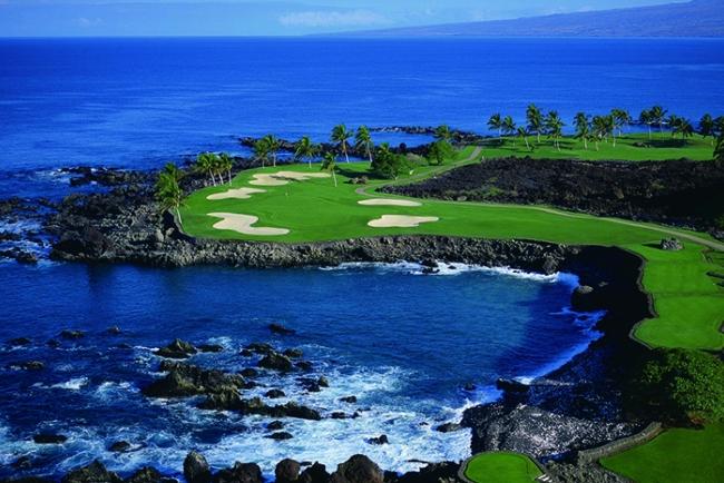 ハワイ、マウラナニ・ゴルフコース