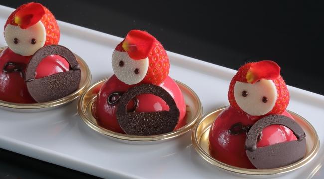 赤ずきんちゃん(いちごとチョコレートのムース)