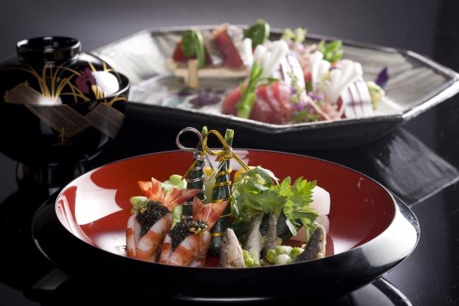 日本料理 うえまち「端午の節句プラン」料理