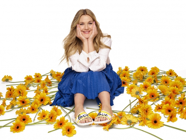 Drew on Drew Barrymore Loves Crocs