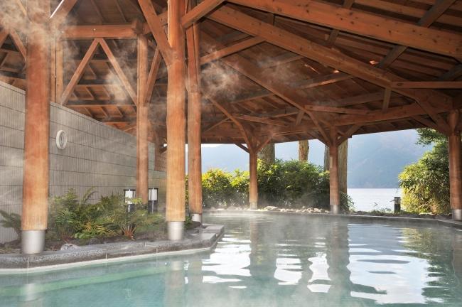露天風呂「箱根 湖畔の湯」イメージ