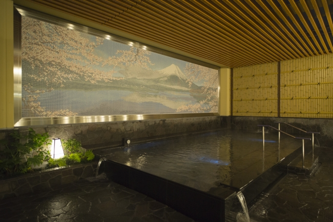 新宿天然温泉 テルマー湯 温泉(内風呂)イメージ