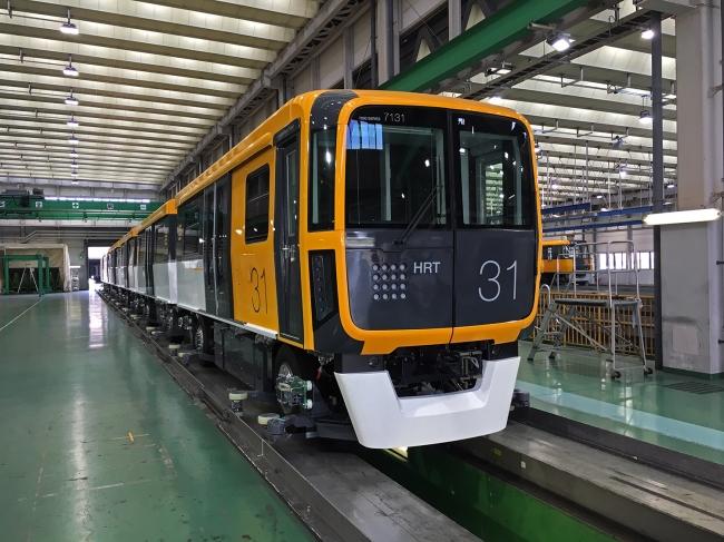 アストラムライン向け7000系新型車両