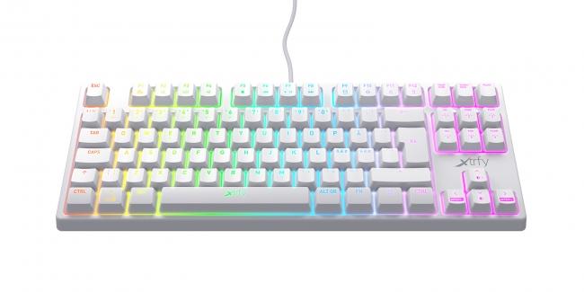 K4 TKL RGB ホワイト(テンキーレス)