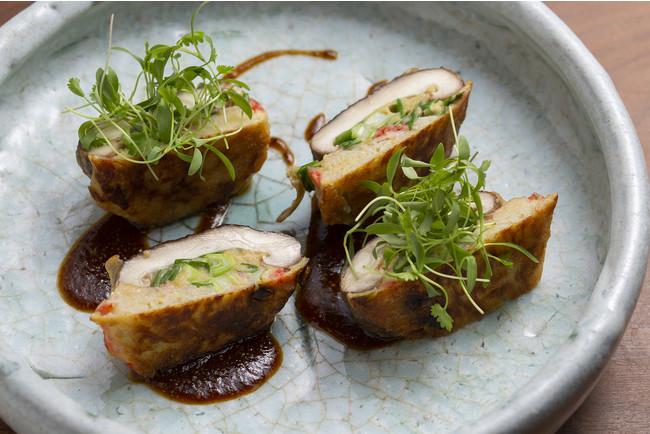 (ケンミン)椎茸のビーフンお好み焼き