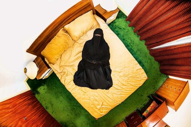 イスラム教徒のお手本部屋(サウジアラビア)