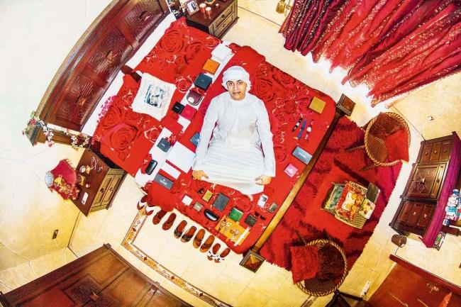 ドバイの富豪「エマラティ」の部屋(UAE)