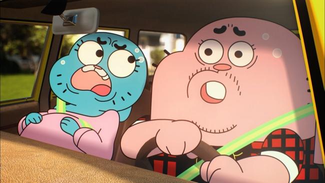 「おかしなガムボール 」TM & (c) 2018 Cartoon Network.