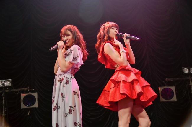 Doll☆Elementesのセルフカバーを披露した権田夏海&小森ゆきの
