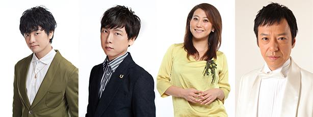 オリジナルアニメ第2話・第3話の声優は新たに福山潤、立花慎之介、友近、そして板尾創路が参加。