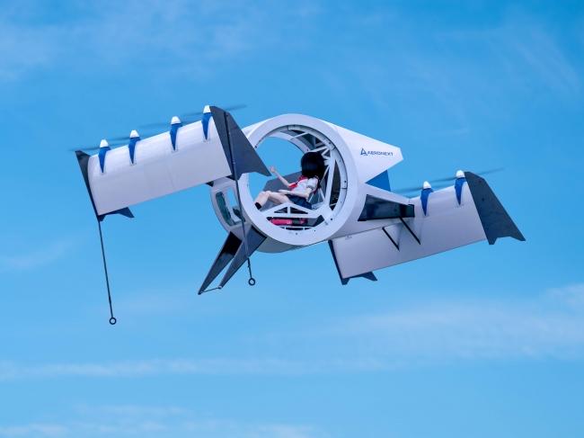 『空飛ぶゴンドラ』Next MOBILITY(R)飛行形態