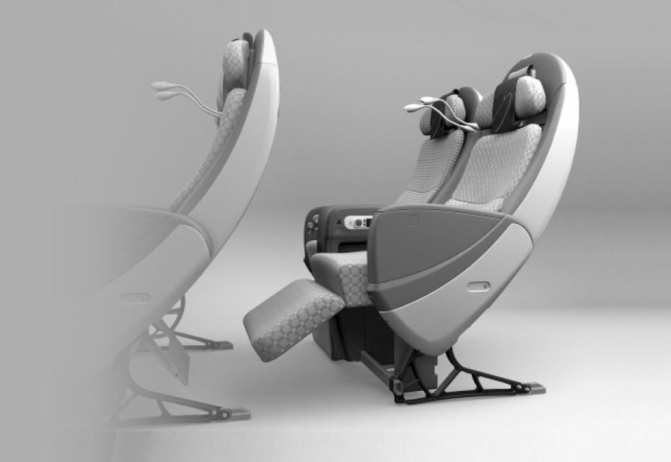 座席一例:JALスカイシェルシート