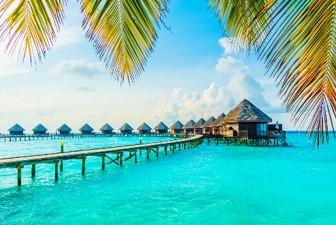 世界的に人気の高いモルディブのビーチ