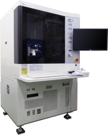 本開発の超高精度三次元測定機(UA3P)