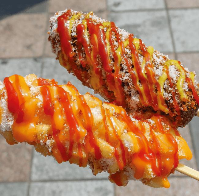 チーズドッグ各種(Arirang Hotdog)