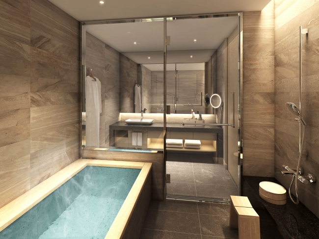 HAKATA Floor 客室バスルームイメージ