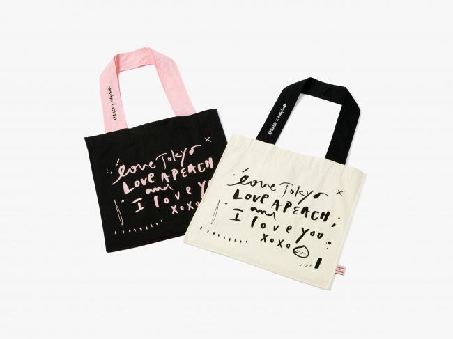 【日本限定】Kelly Park エコバッグ 各¥3,500(税抜)