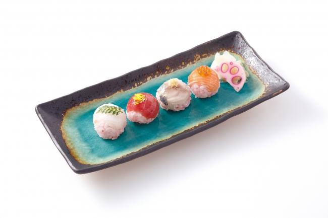 いちごの手まり寿司