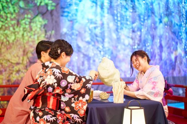 【「昼マツリ –HIRUMATSURI-」の様子】
