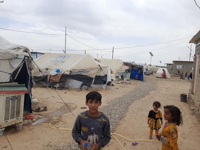 MSFが2019年6月より活動するライラン・キャンプ © Tetyana Pylypenko/MSF