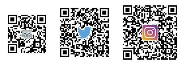 <左:まっぷるトラベルガイド(WEB)、中:Twitter公式アカウント、右:Instagram公式アカウント>