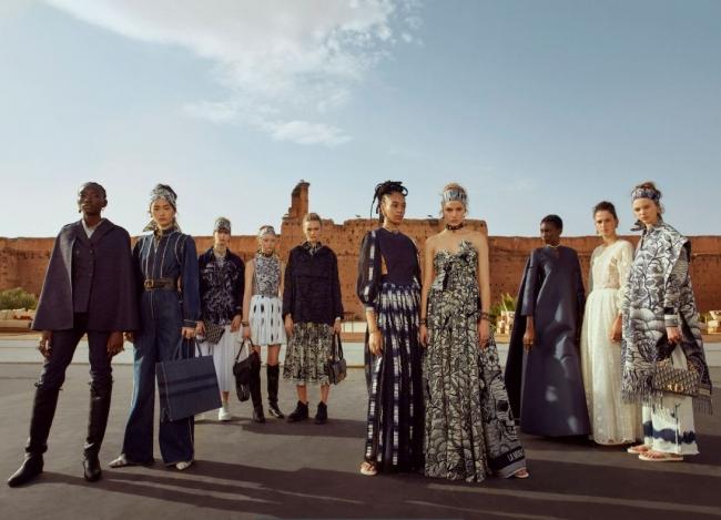 Nadine Ijewere for Dior