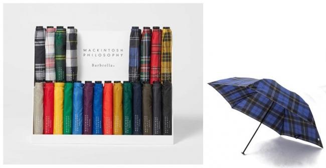 マッキントッシュ フィロソフィー(メンズ)軽い軽量折り畳み傘「Barbrella(R)(バーブレラ)」