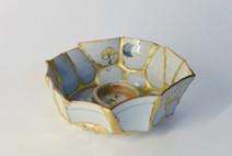 「bowl」2016 茶椀、金継