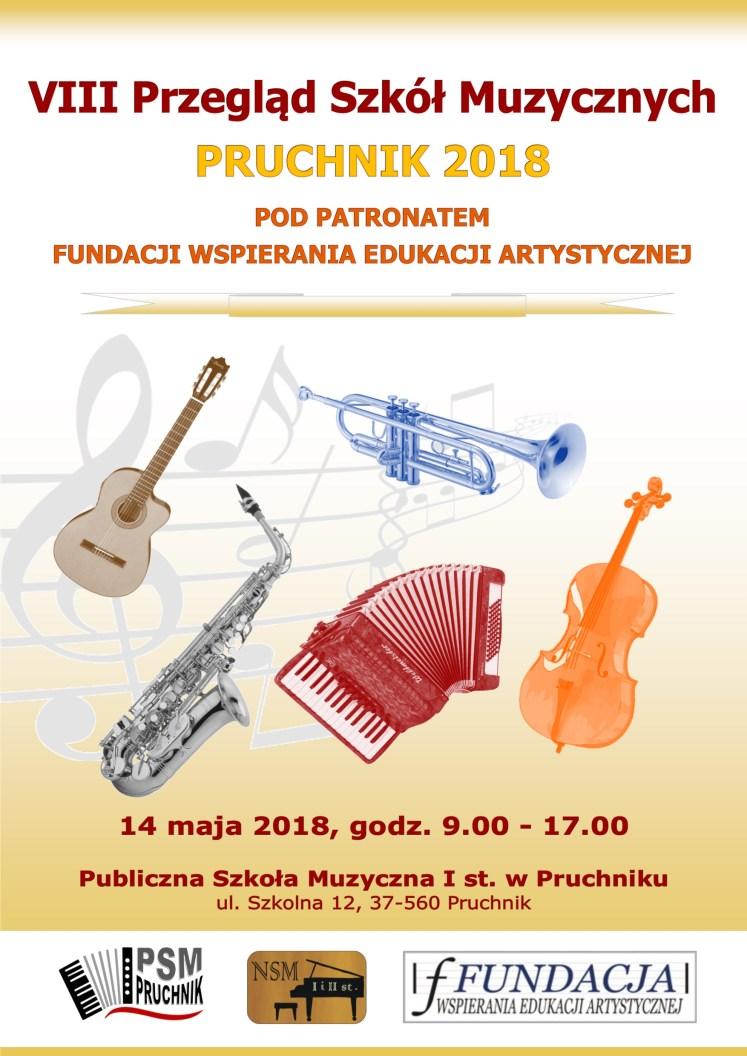 Plakat - Przegląd Pruchnik 2018_2wer