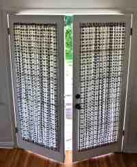 DIY French Door Curtain Panel Tutorial   Pretty Prudent